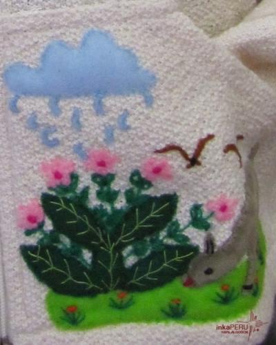 Chaqueta infantil en 100% algodón natural