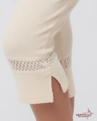 Pantalón pirata en 100% algodón natural