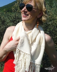 Scarf - 100% natural cotton